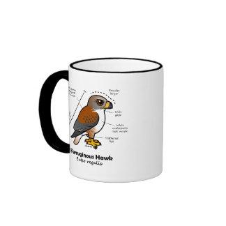 Ferruginous Hawk Statistics Ringer Mug