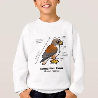 Ferruginous Hawk Statistics Sweatshirt