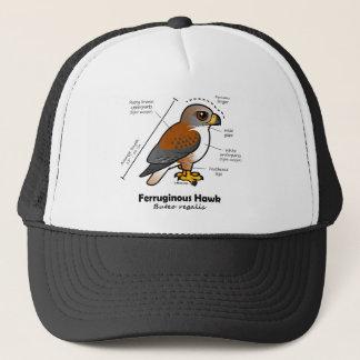 Ferruginous Hawk Statistics Trucker Hat