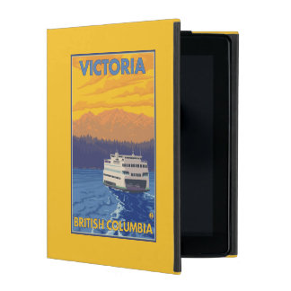 Ferry and Mountains - Victoria, BC Canada iPad Covers