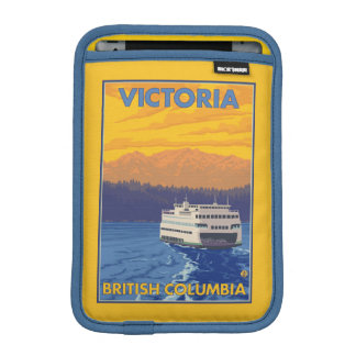 Ferry and Mountains - Victoria, BC Canada Sleeve For iPad Mini