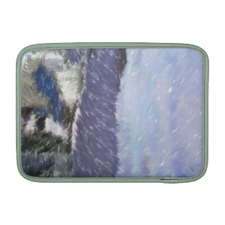 ferry and sea art sleeve for MacBook air