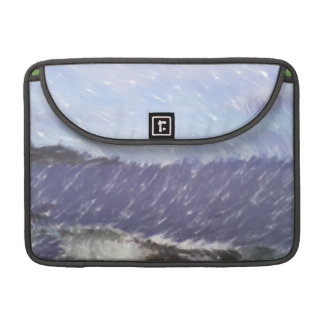 ferry and sea art sleeves for MacBook pro