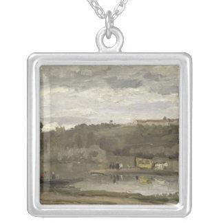 Ferry at Varenne-Saint-Hilaire, 1864 Pendants