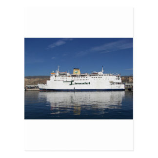 Ferry Beni Ansar Postcard