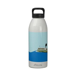 Ferry Boat Hong Kong Water Bottles
