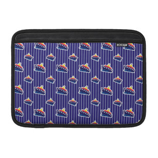 Ferry Boats on Nautical Blue MacBook Air Sleeves