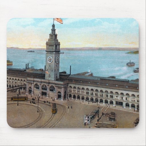 Ferry Building 1910 Mousepad