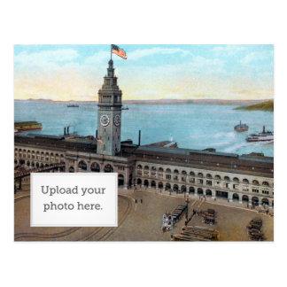 Ferry Building 1910 Postcard