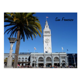 Ferry Building- San Francisco Postcard