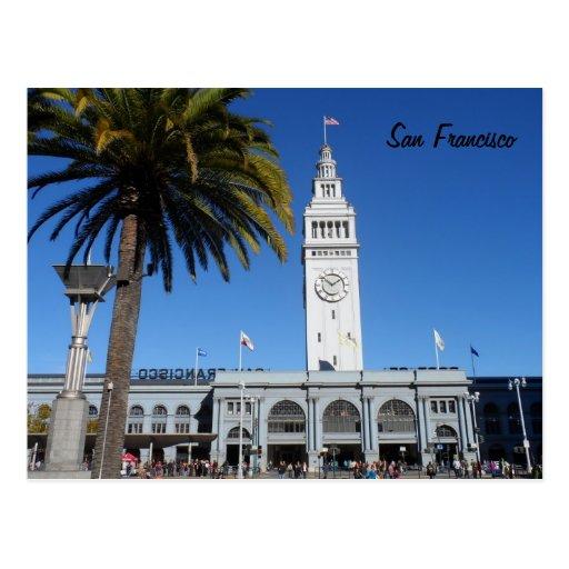 Ferry Building- San Francisco Post Card