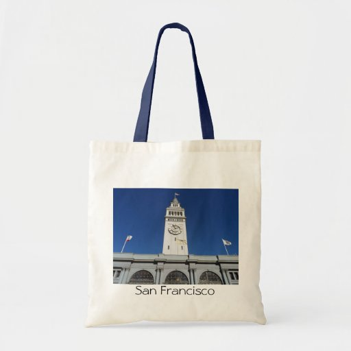 Ferry Building- San Francisco Tote Bag