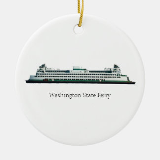 Ferry Ceramic Ornament