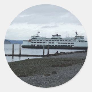 Ferry Classic Round Sticker