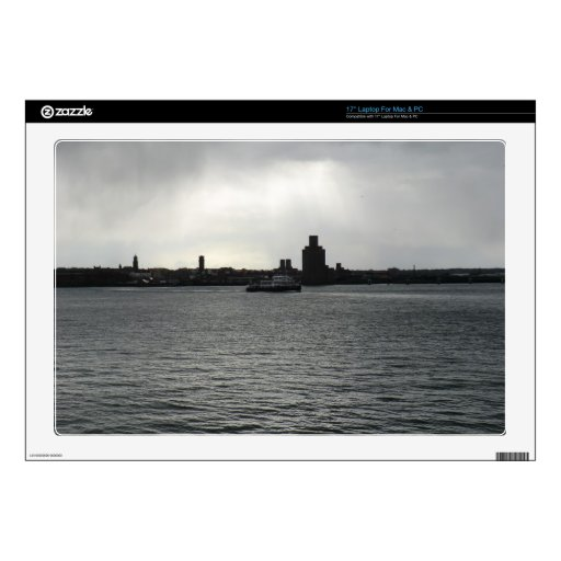 """Ferry Cross the Mersey Decal For 17"""" Laptop"""
