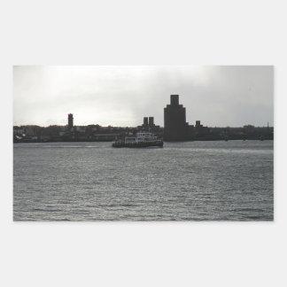 Ferry Cross the Mersey Rectangular Sticker