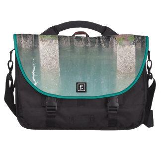 Ferry Dock Pilings Bag For Laptop