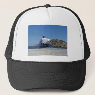 Ferry Docking Trucker Hat