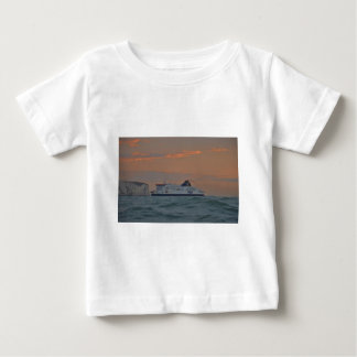 Ferry Entering Dover Baby T-Shirt