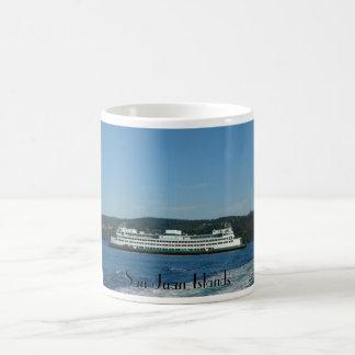 Ferry in San Juan Islands Classic White Coffee Mug