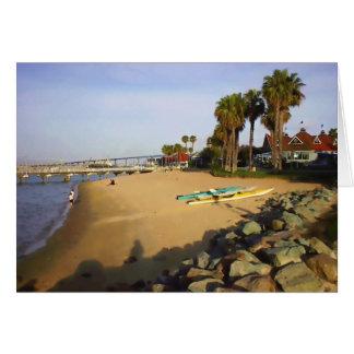Ferry Landing Beach Card