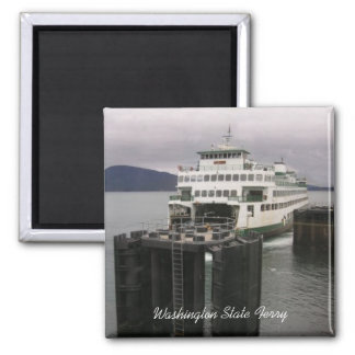 Ferry 2 Inch Square Magnet