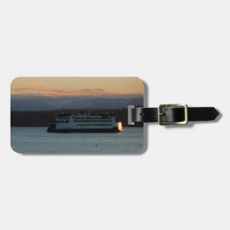 Ferry on the Sound Bag Tag