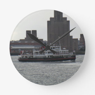 Ferry Over the River Mersey Clocks