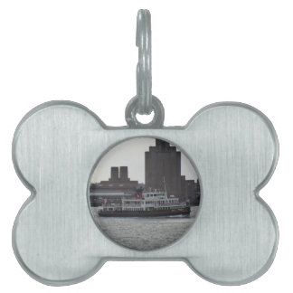 Ferry Over the River Mersey Pet Name Tag