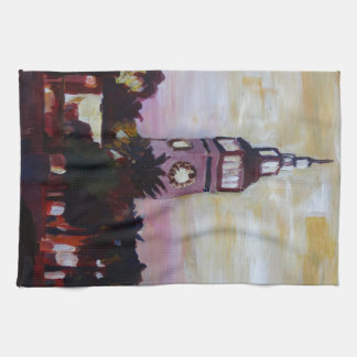 Ferry Plaza Building in San Francisco California Hand Towels