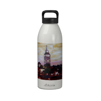 Ferry Plaza Building in San Francisco California Drinking Bottle