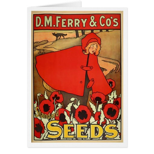 Ferry Seeds notecard Stationery Note Card