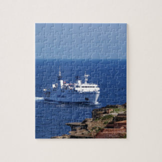 Ferry Tetide Approaching Ventotene Puzzle
