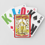 """""""FERRY-THE HUMAN FROG"""" BICYCLE CARD DECK"""