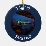 Ferry through the Window Christmas Tree Ornament