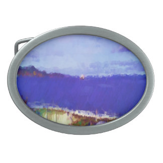 ferry view oval belt buckles