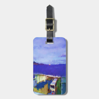ferry view luggage tag