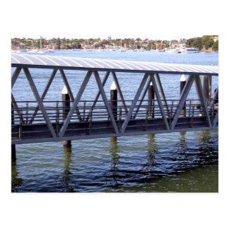 Ferry Wharf Postcard