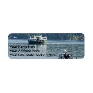 Ferryboat Address Labels