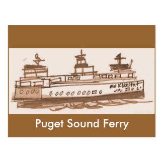 Ferryboat Postcard