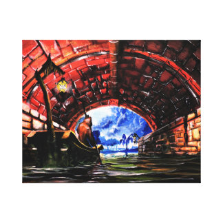 Ferryman - Solace Park Collection Canvas Print