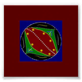Fertile Ground Mandala Print