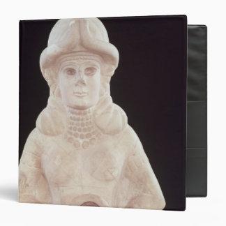 Fertility goddess, from Mari, Middle Euphrates Binder