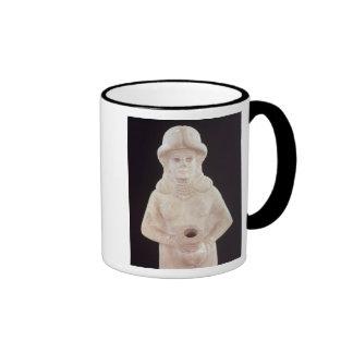 Fertility goddess, from Mari, Middle Euphrates Mug