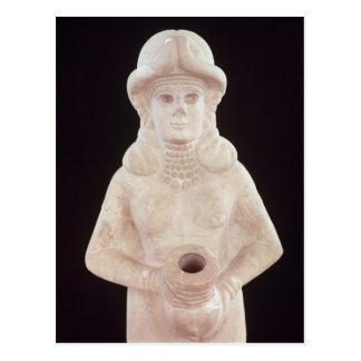 Fertility goddess, from Mari, Middle Euphrates Postcard