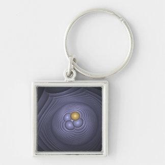 Fertility Square Key Ring