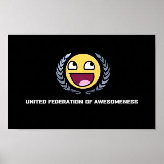 Fesderation unido de Awesomeness Poster