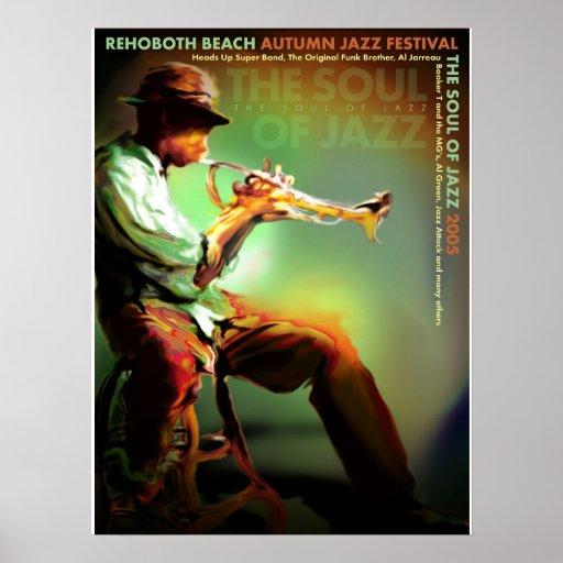 Fest 2005 del jazz del otoño de la playa de Rehobo Poster