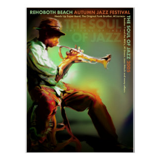 Fest 2005 del jazz del otoño de la playa de Rehobo Póster