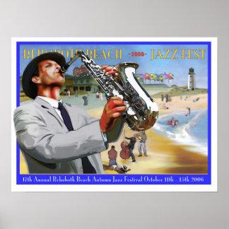 Fest 2006 del jazz del otoño de la playa de Rehobo Póster